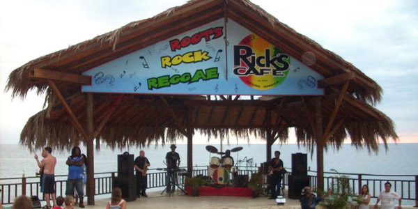 Worlds Famous Ricks Cafe - Negril Jamaica